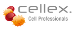 Logo cellex. Cell Professionals